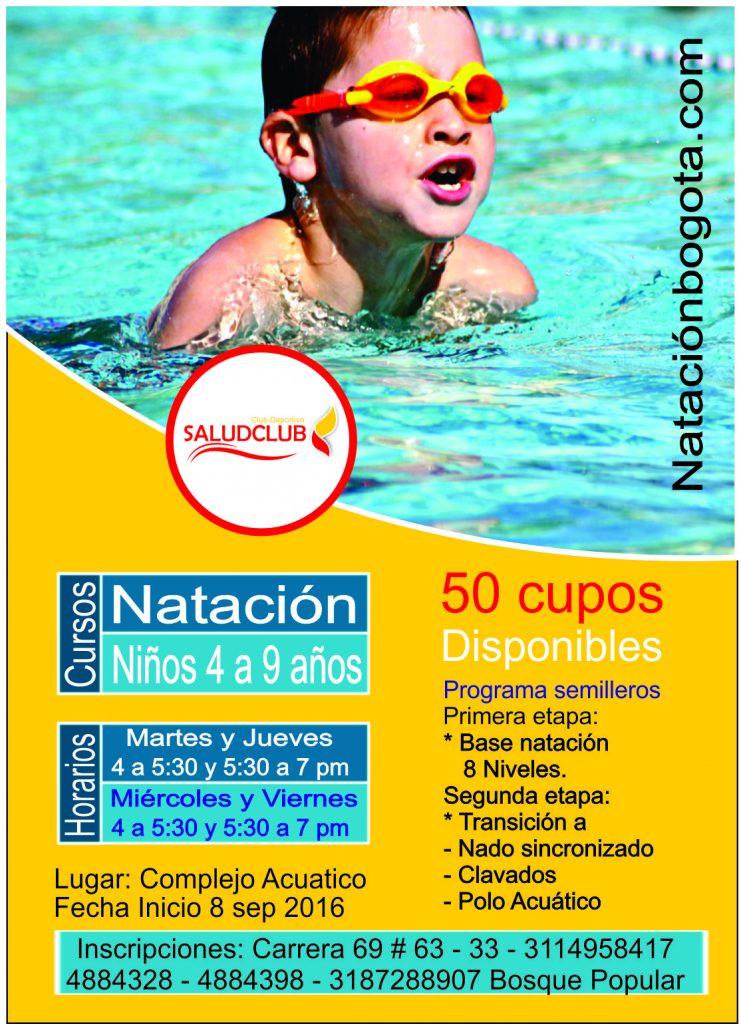 Cursos y clases de natacion Complejo acuatico