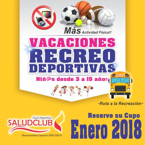 Cursos Vacacionales Enero 2018