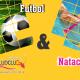 Combo Deportivo Natación y Fútbol Saludclub