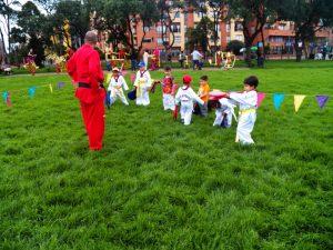 cursos y clases en escuela academia de taekwondo para niños